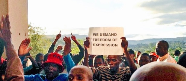 swazi protestors_by bill snaddon